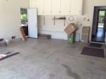 Yea! An empty garage!