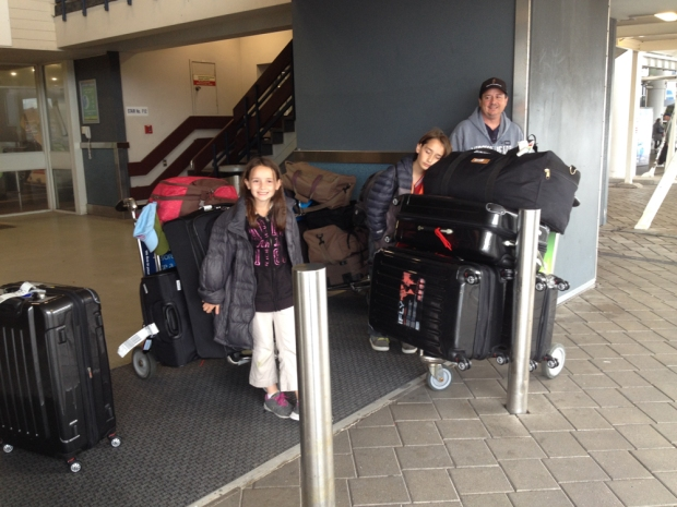 Finally in New Zealand!!!!