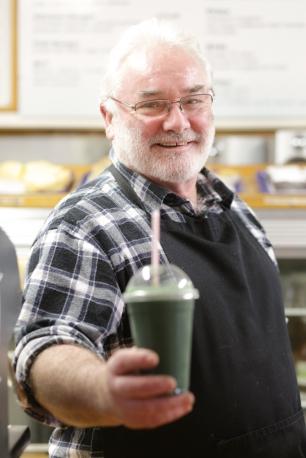 Bruce from Waimauku Food Station